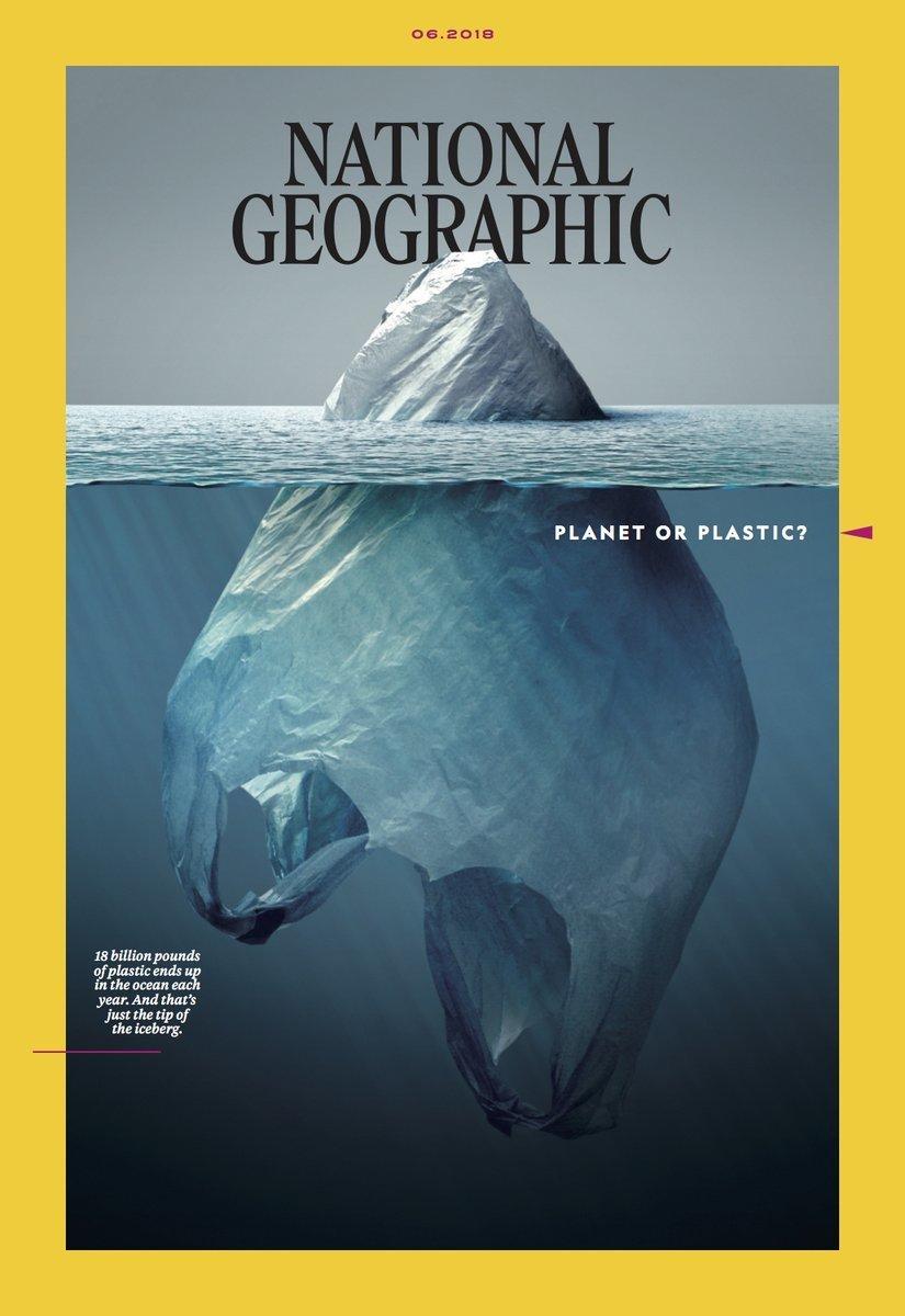 """""""National Geographic"""" macht mit genialem Cover auf eines der größten Probleme der Menschheit aufmerksam"""