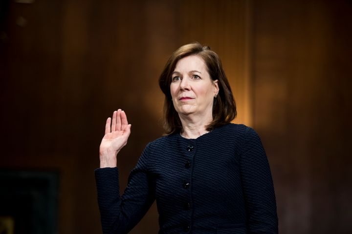Wendy Vitter inched closer Thursday to getting confirmed to a lifetime seat on a U.S. District Court.