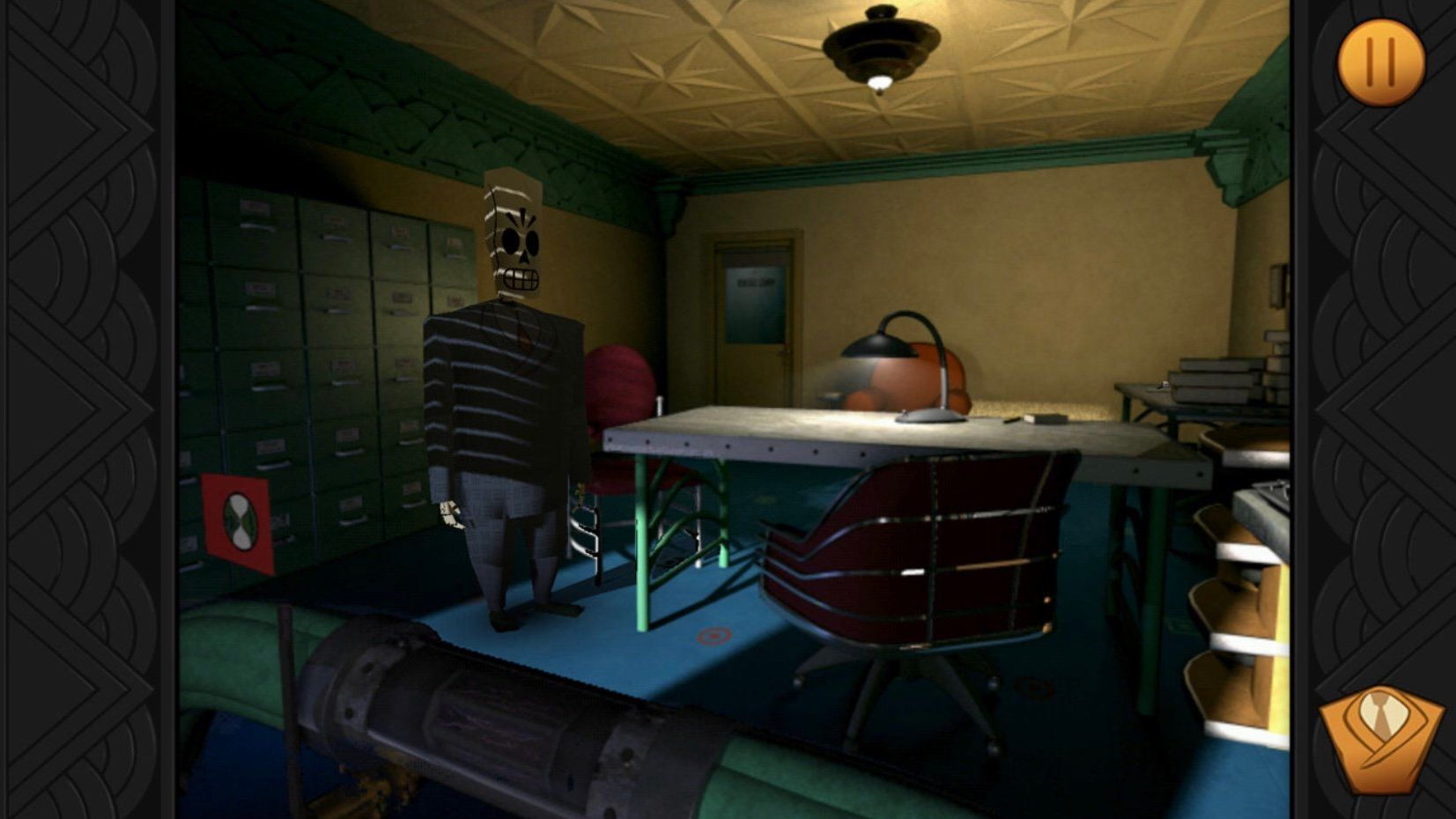 Grim Fandango Is Still As Funny Today On iPhone As It Was Back In
