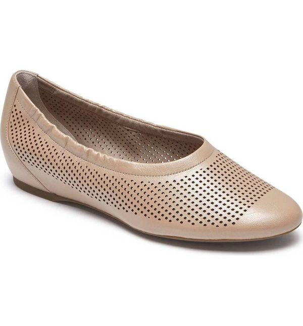 """Get the <a href=""""https://shop.nordstrom.com/s/rockport-total-motion-luxe-flat-women/4756958?origin=keywordsearch-personalized"""