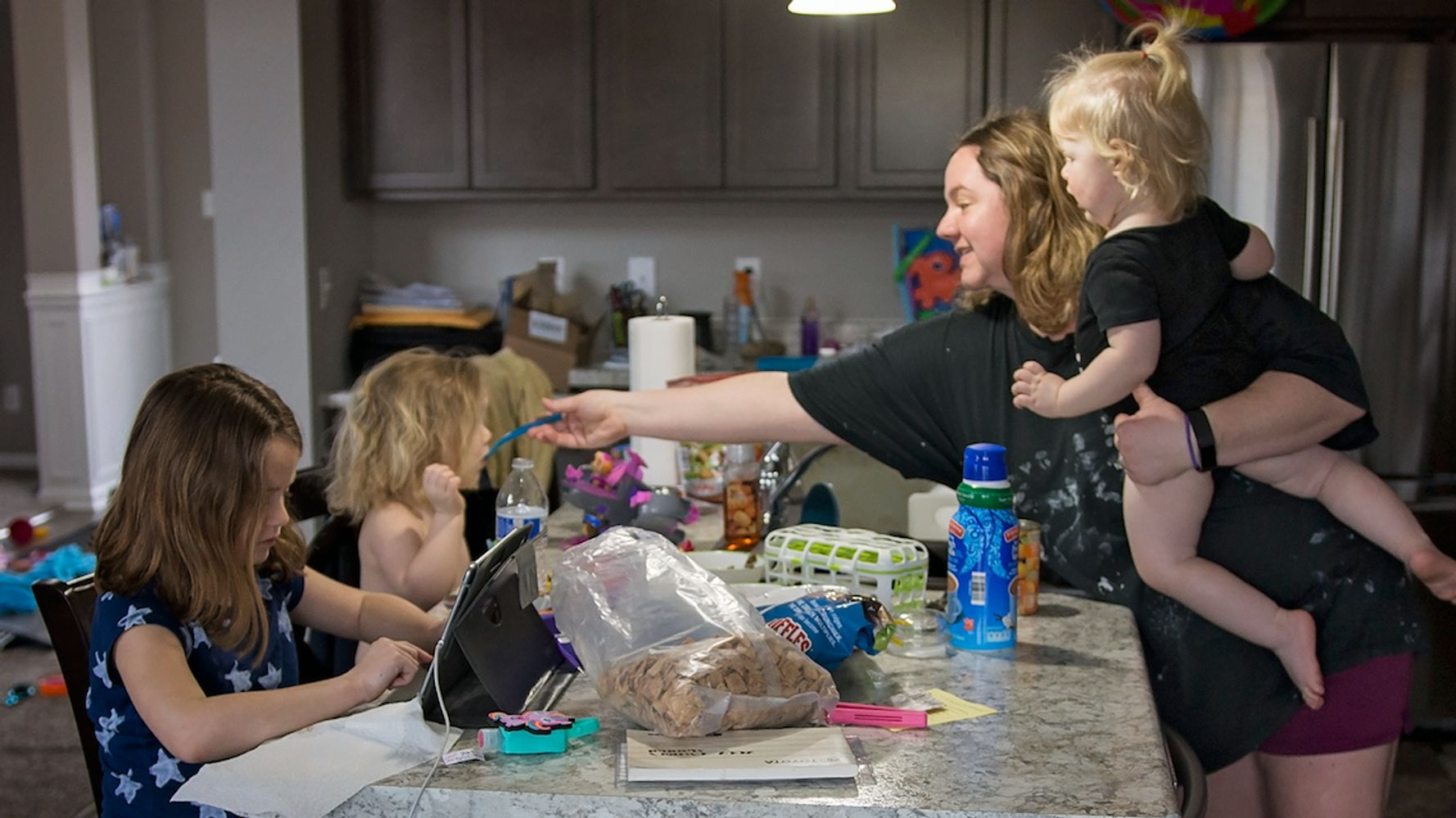 'Whatever Happened To My Privacy?' Honest Photos Capture The Reality Of Being A Mum