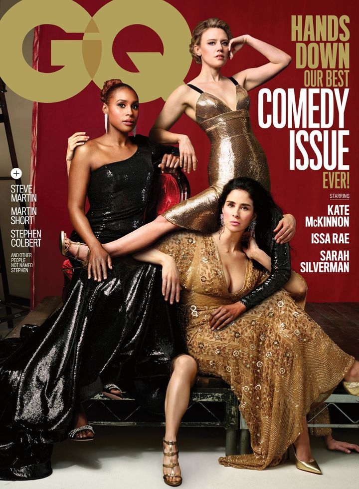 GQ Expertly Spoofs Vanity Fair With Their Annual Comedy Issue Cover