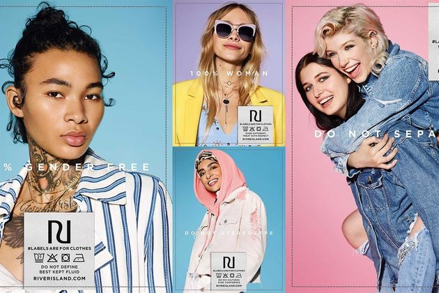 River Island's Spring campaign has been praised for featuring a diverse model