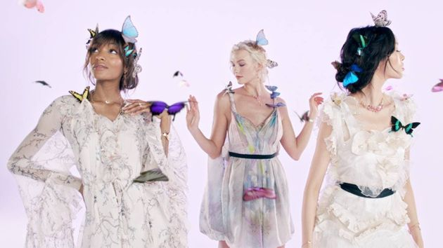 Swarovski produced one of the most diverse campaigns of Spring