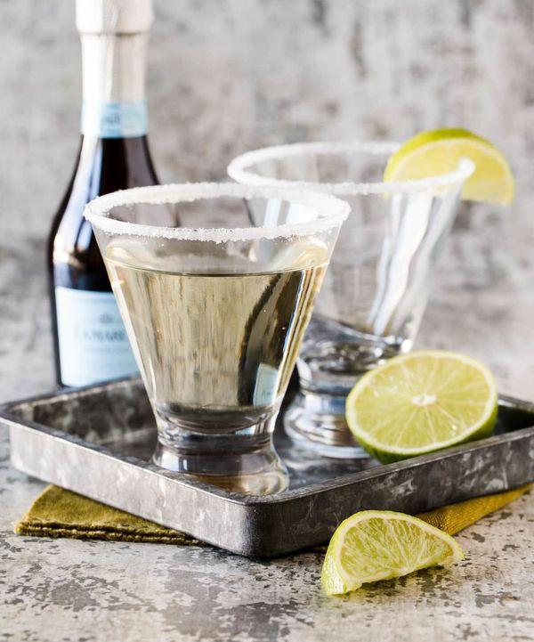 "<strong>Get the <a href=""https://www.garnishwithlemon.com/gin-elderflower-and-prosecco-cocktail/"" target=""_blank"">Gin, Elderf"