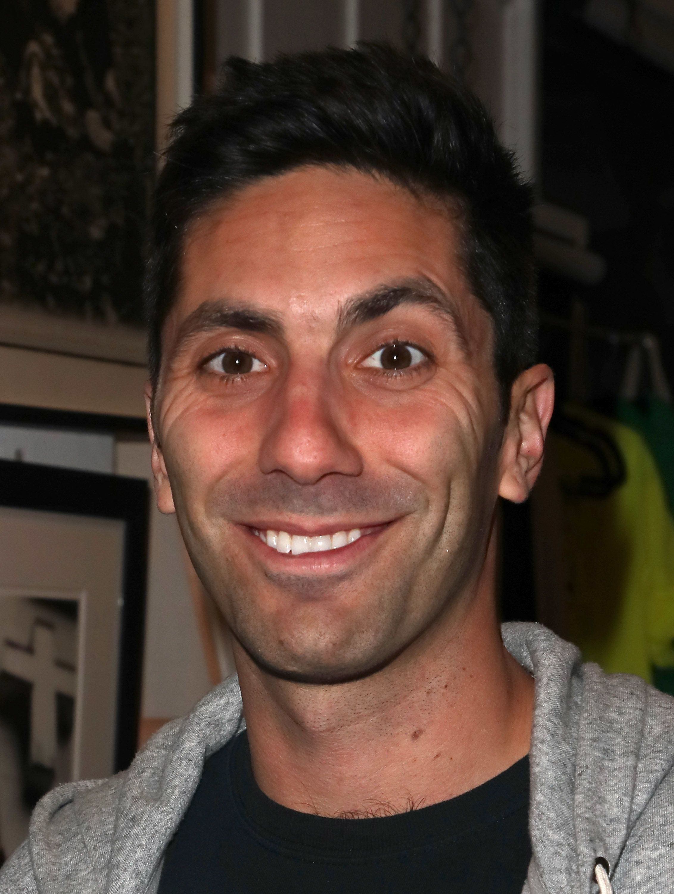 LOS ANGELES, CA - APRIL 06:  TV host /producer Nev Schulman attends ProjectArt's inaugural Los Angeles benefit reception for 'My Kid Could Do That' at The Underground Museum on April 6, 2018 in Los Angeles, California.  (Photo by David Livingston/Getty Images)