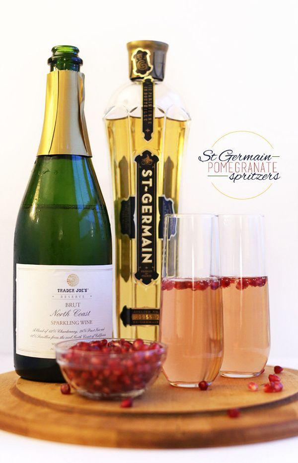 "<strong>Get the <a href=""https://minimalistbaker.com/st-germain-pomegranate-spritzers/"" target=""_blank"">St. Germain Pomegrana"
