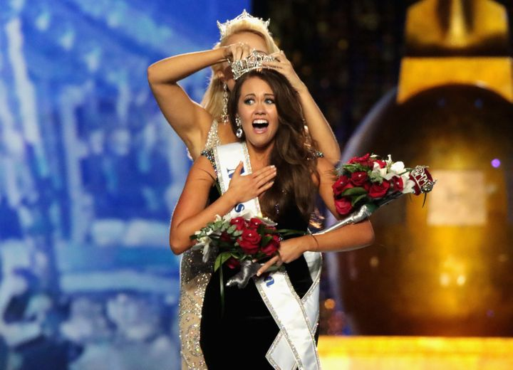 Miss North Dakota 2017, Cara Mund, is crowned as Miss America 2018 in September. For the first time in the Miss America pagea