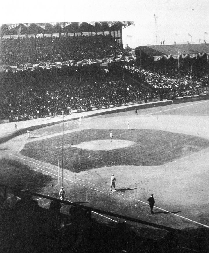 The Boston Red Sox and the Chicago Cubs met in the 1918 World Series.