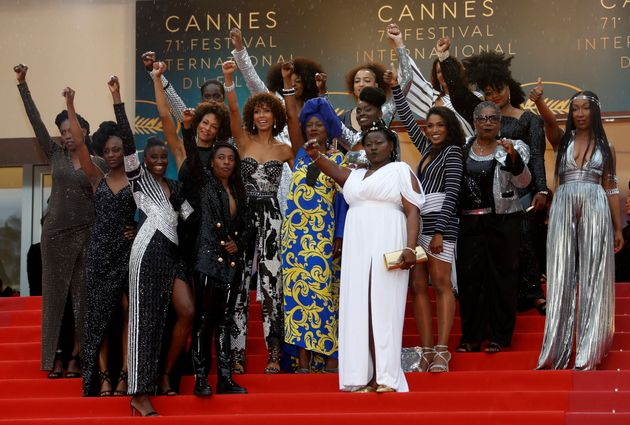 """The actresses recently collaborated on a book called """"Noire N'est Pas Mon Métier,""""..."""