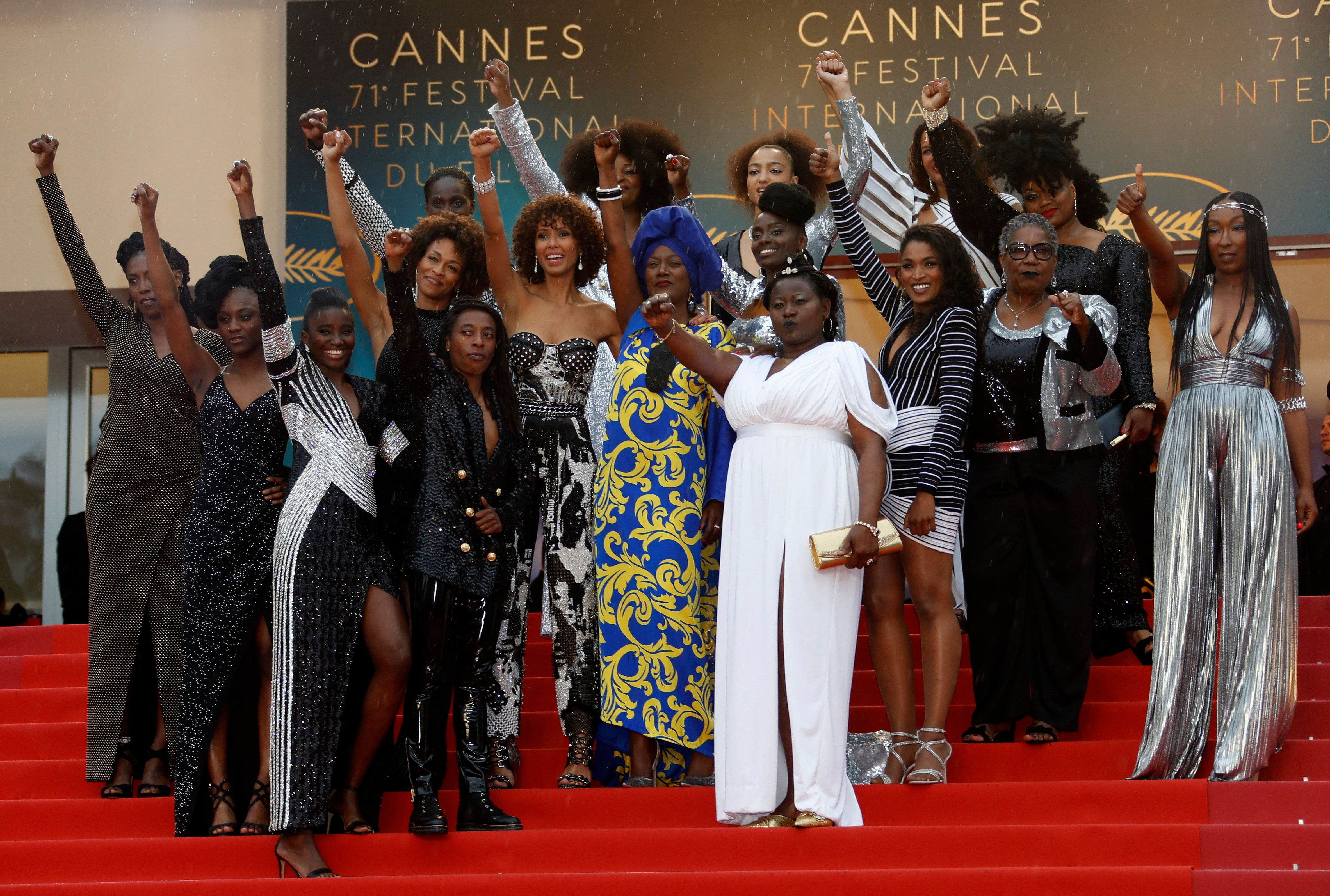 """The actresses recently collaborated on a book called """"Noire N'est Pas Mon Métier,"""" or <i>Black Is No"""