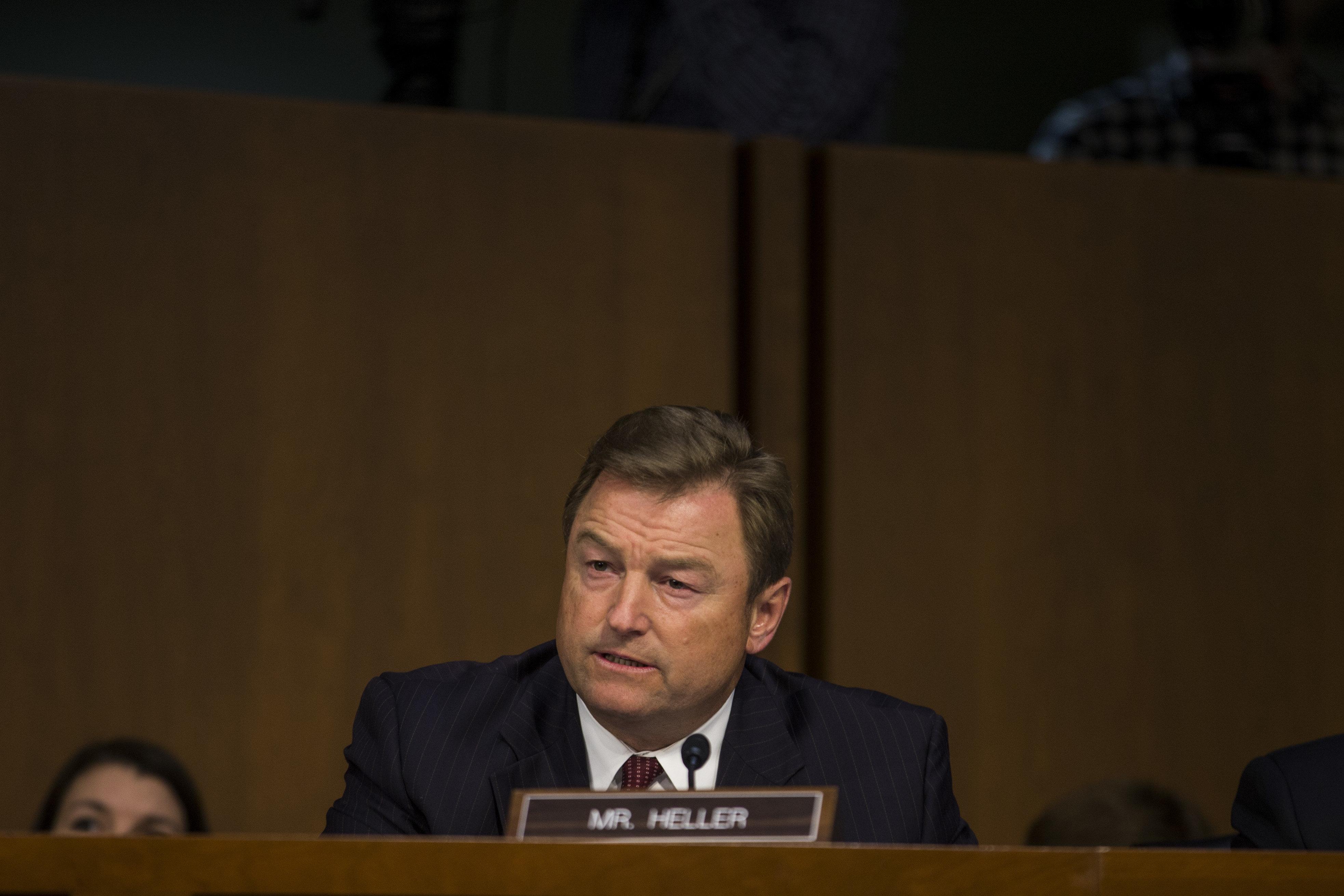 Republican Sen. Dean Heller of Nevada