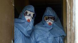 에볼라 바이러스가 콩고 도심으로 번지고