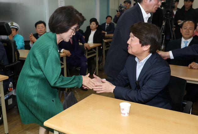 바른미래 진수희 서울시당위원장은 통합을 뼈저리게