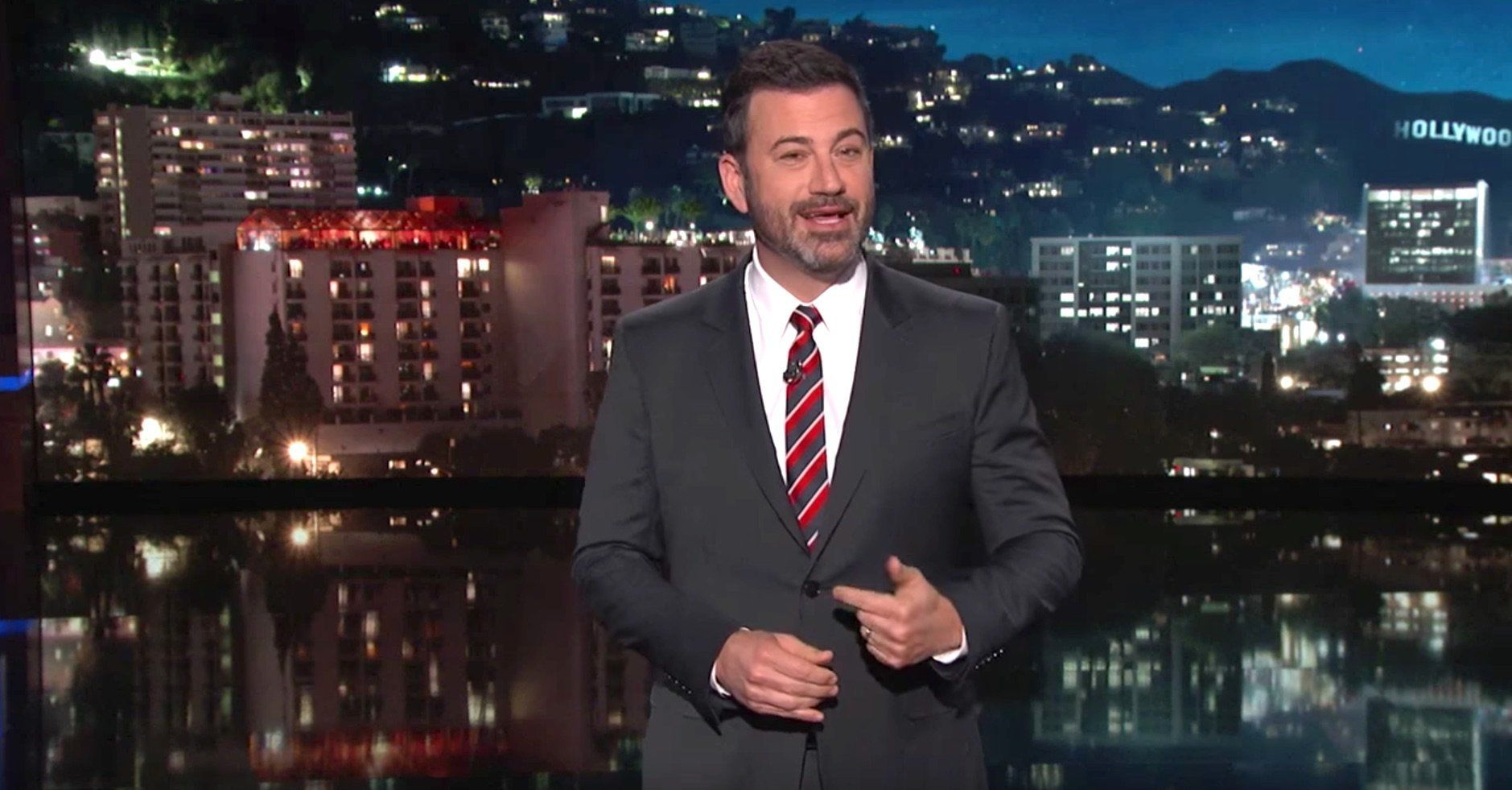 Kimmel Brings Down The House By Giving Trump's Latest Tweet A New