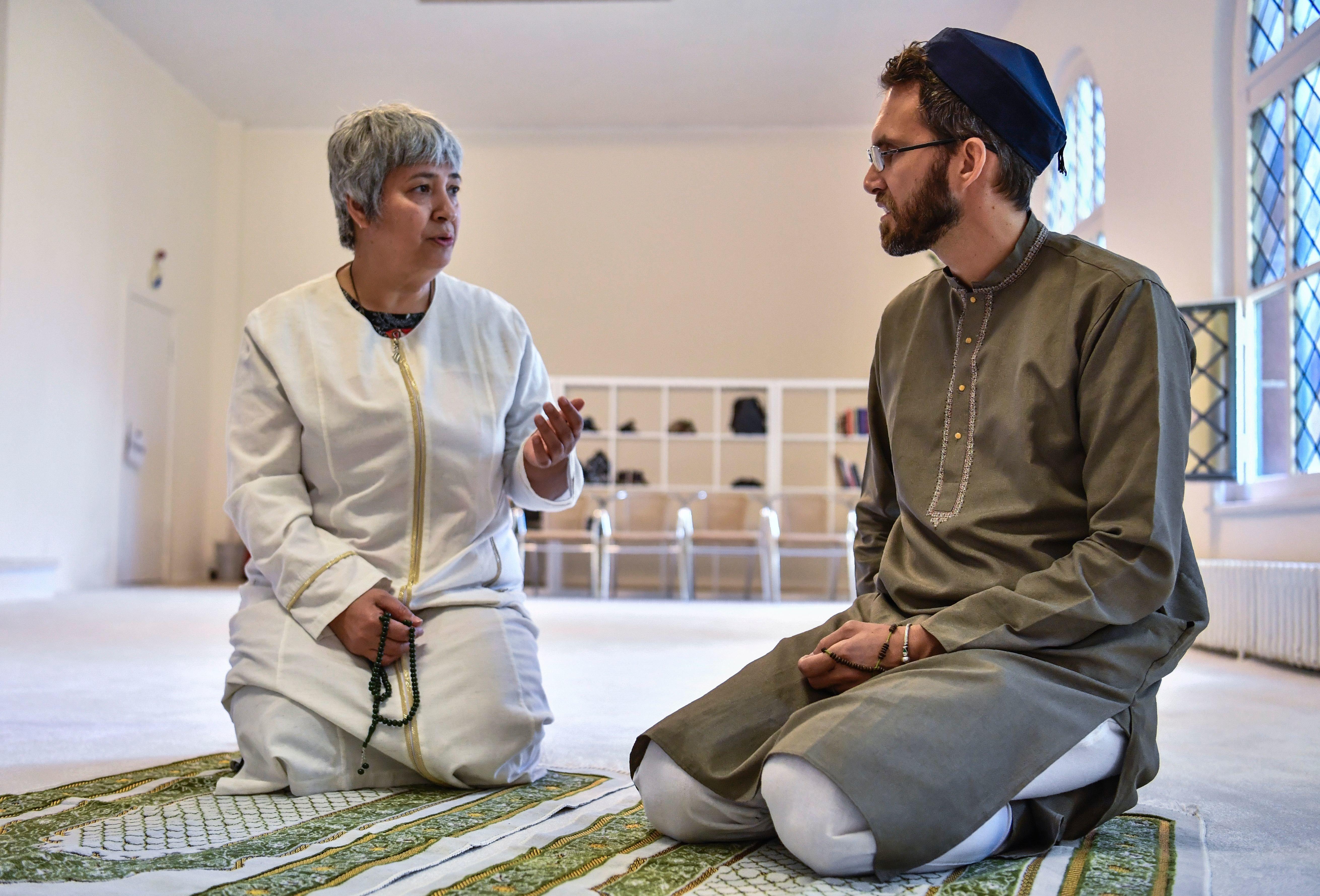 Ludovic-Mohamed Zahed im Gespräch mit der Berliner Imamin Seyran
