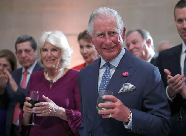 Prince Charles, right,