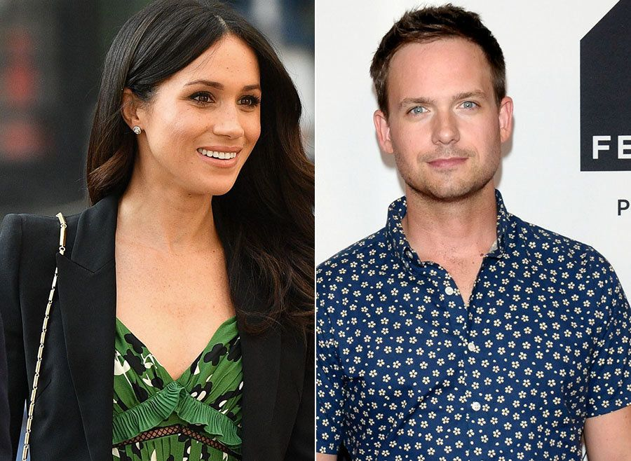 Meghan Markle's On-Screen Husband Patrick Adams Arrives In The UK Ahead Of The Royal