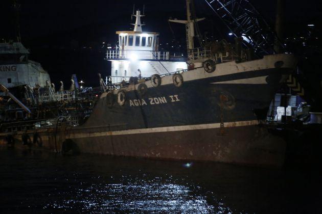 Συνελήφθη ο εκπρόσωπος της διαχειρίστριας εταιρείας των δεξαμενόπλοιων «Αγία Ζώνη Ι» και «Αγία Ζώνη