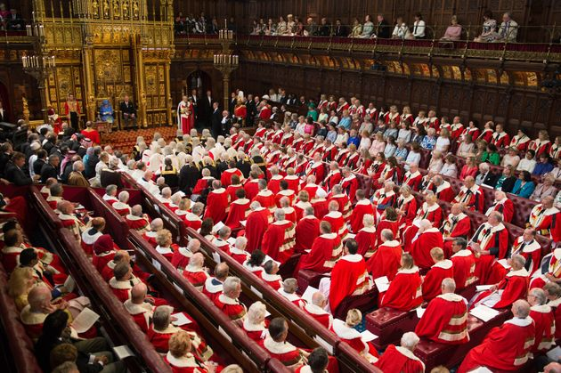Theresa May Accused Of 'Cynical' Ploy To Bury News Of New Tory Lords Under Royal