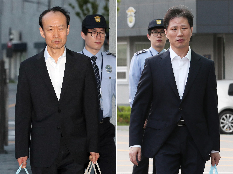 안봉근·이재만이 199일 만에 석방되다