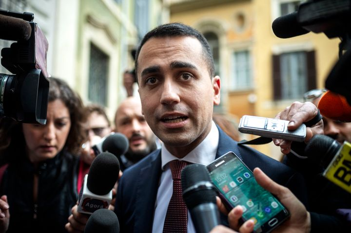 Luigi Di Maio, Leader of 5-Star Movement (M5S).