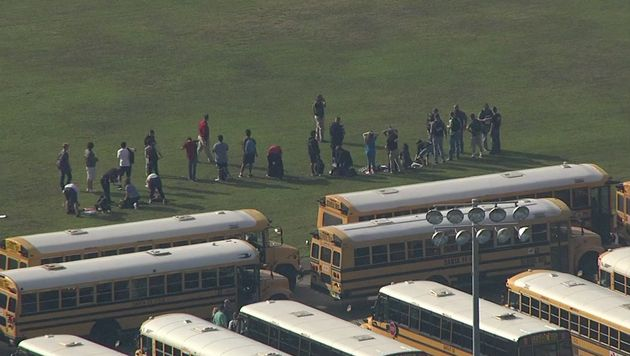 Students were evacuated from Santa Fe High School Friday morning. The high school serves about 1,500...
