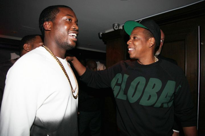 Meek Mill and Jay-Z in 2012.