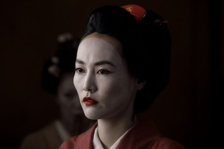 "Rinko Kikuchi as Akane in ""Westworld."""