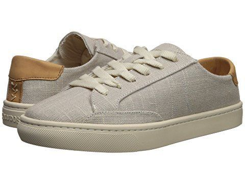 "Get it at <a href=""https://www.zappos.com/p/soludos-ibiza-linen-lace-up-sneaker-light-gray/product/9044868/color/2950"" target"