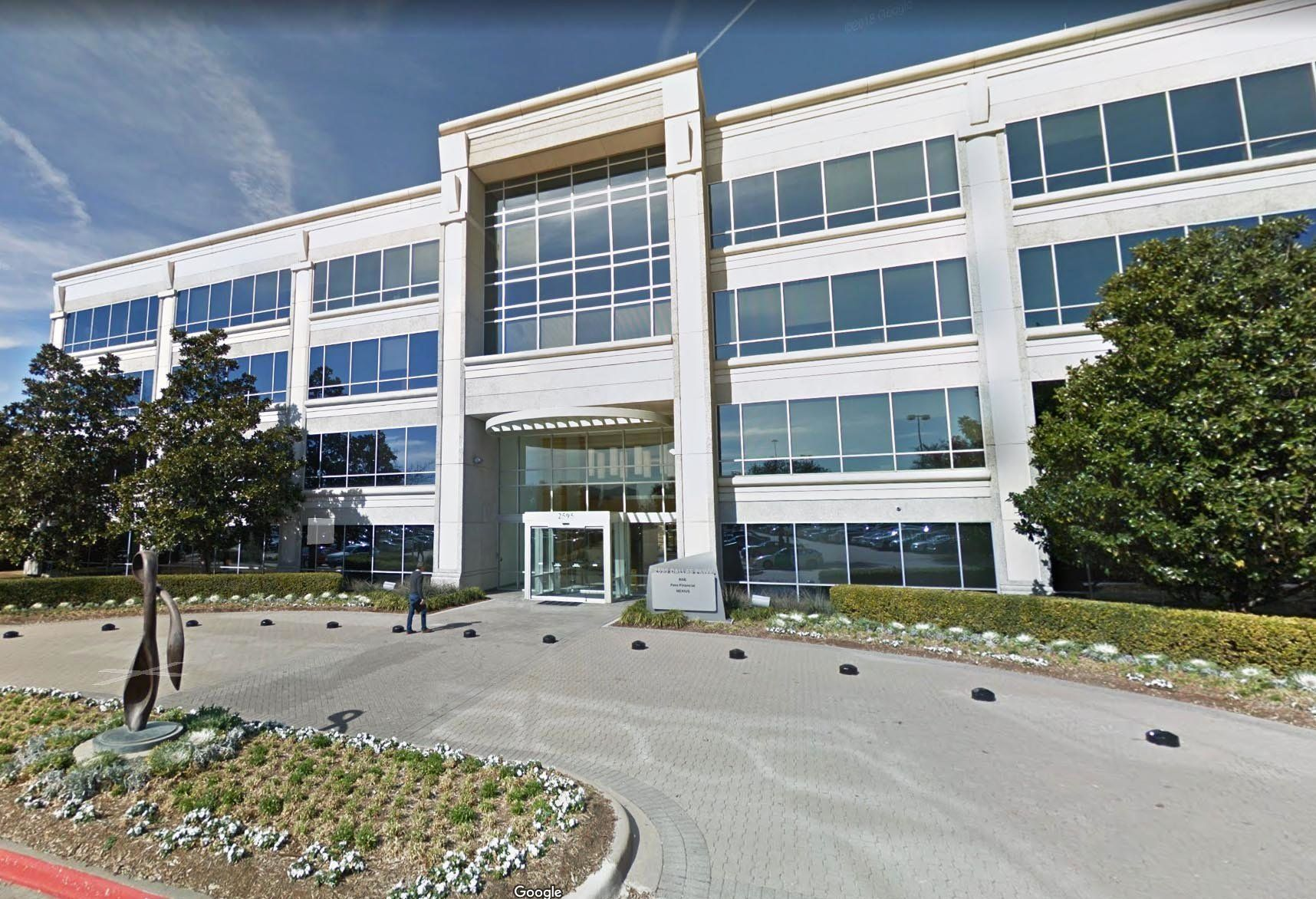 A Google street view of Novus Health Services in Frisco, Texas.