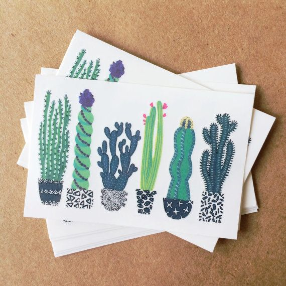 "Get them on <a href=""https://www.etsy.com/listing/285995971/cactus-tattoos-colorful-greenery"" target=""_blank"">Etsy</a>, $8.&n"