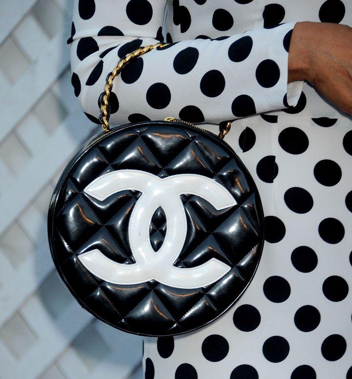 Chanel's logo.