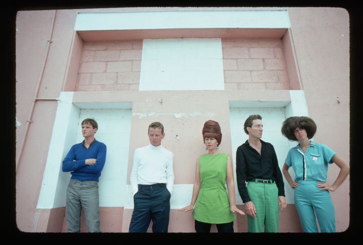 From left: Keith Strickland, Ricky Wilson, Kate Pierson, Fred Schneider and Cindy Wilson.
