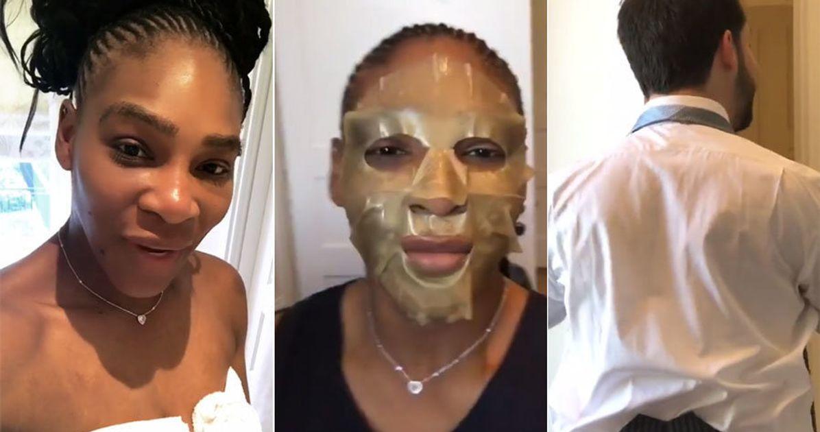 Serena Williams Royal Wedding.Royal Wedding Serena Williams Instagram Story Is Something To