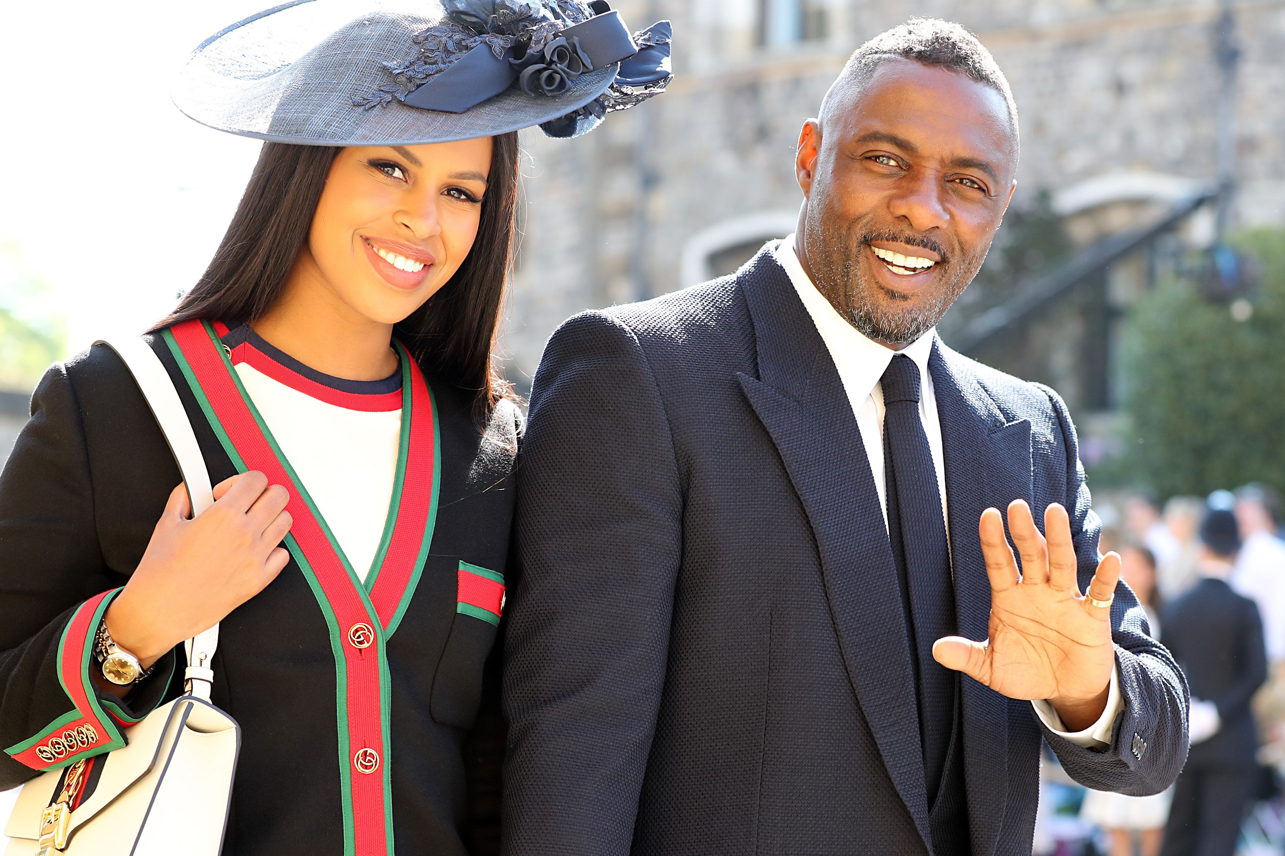 Idris Elba and Sabrina Dhowre   PA Wire  PA Images