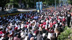 불법촬영 편파수사 규탄 집회에 '염산 테러' 예고한 남성