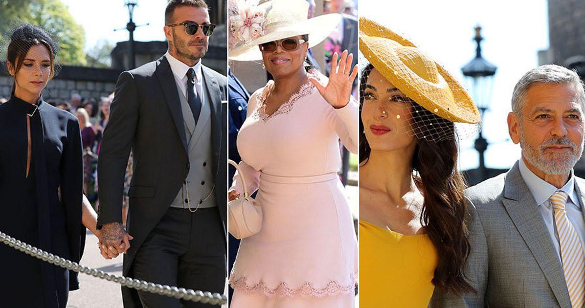Oprah Winfrey Royal Wedding.Royal Wedding Celebrity Guests Include Oprah Winfrey David Beckham