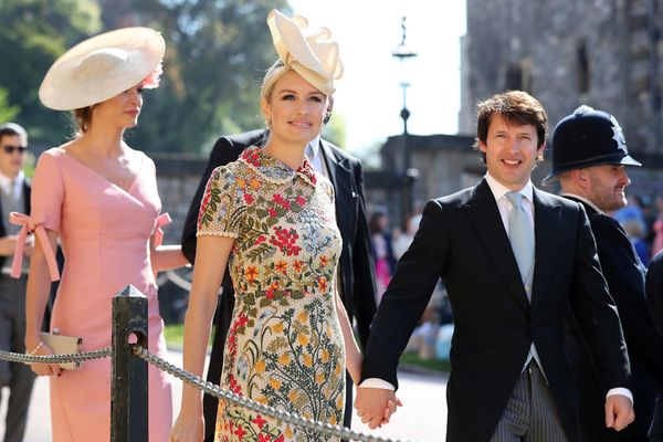 Sofia Wellesley and husband James Blunt.