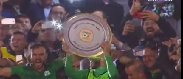 Football-Ligue 1 : le CS Constantine reçoit son bouclier de champion