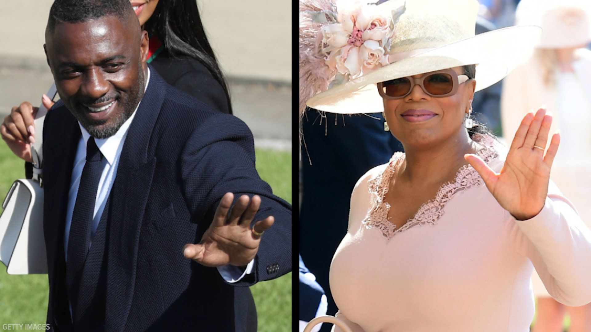 Several celebrities attended Prince Harry and Meghans wedding