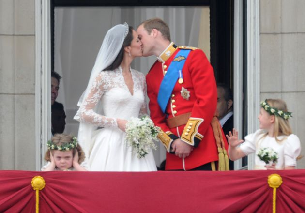 Grace von Cutsem stole the show at William and Kate's 2011