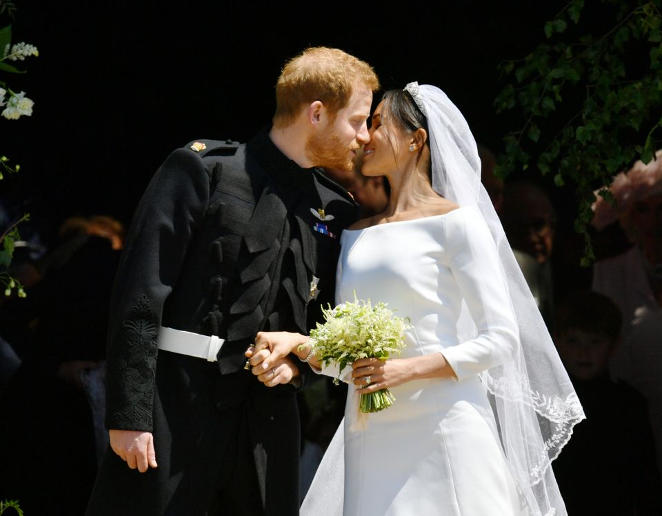 The kiss: The Duke and Duchess of