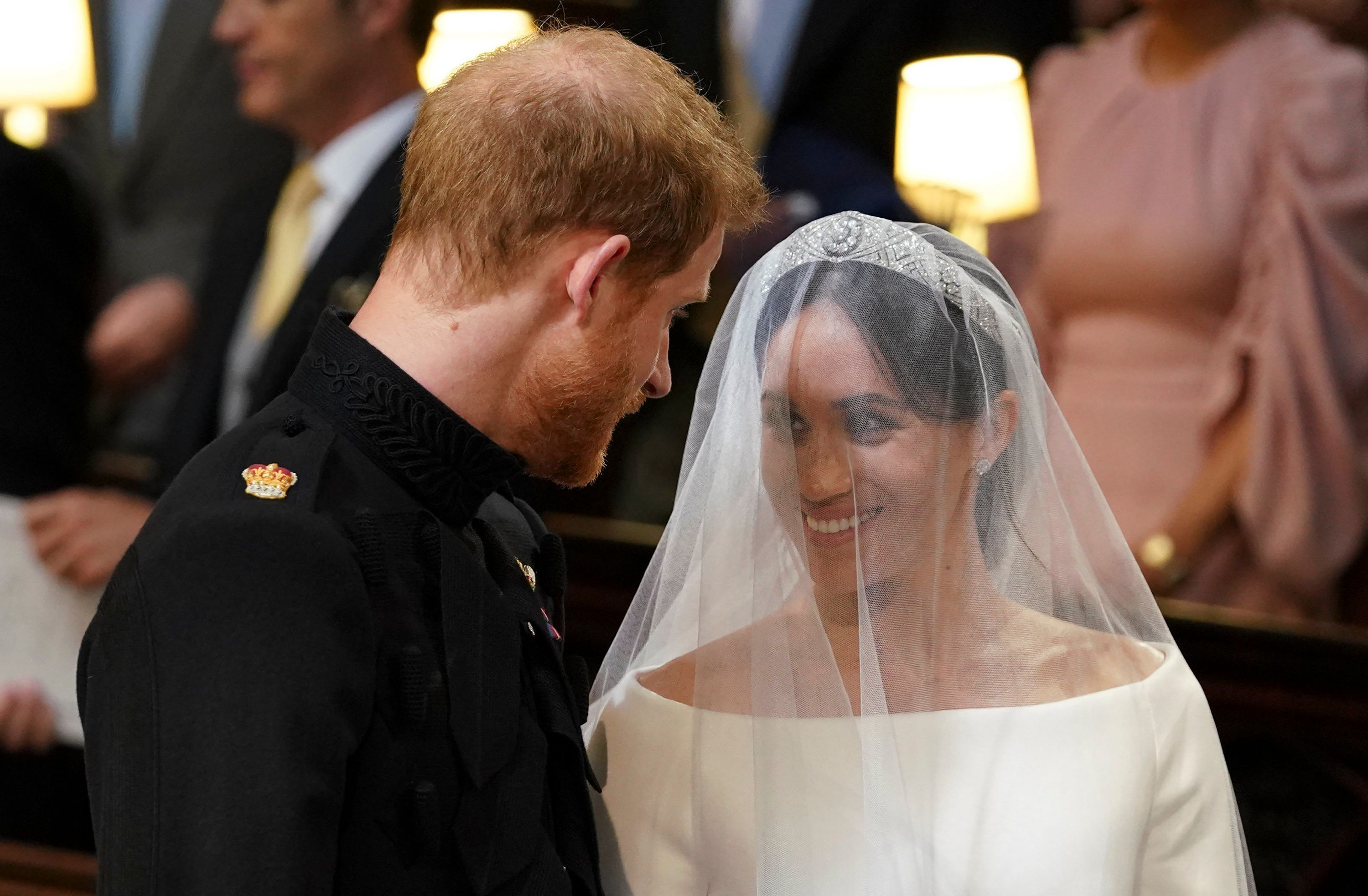 Did Harry Tell Meghan 'I'm Sh*tting It' At The Altar? UPDATE: Erm, no.