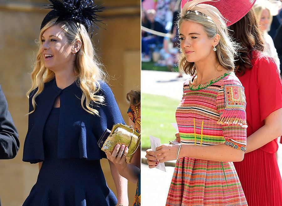 Did You Spot Prince Harry's Exes, Chelsy Davy And Cressida Bonas, At The Royal Wedding?