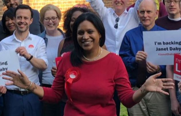 Janet Daby beat her Momentum-backed rival Sakina Sheikh in the final ballot by 288 votes to