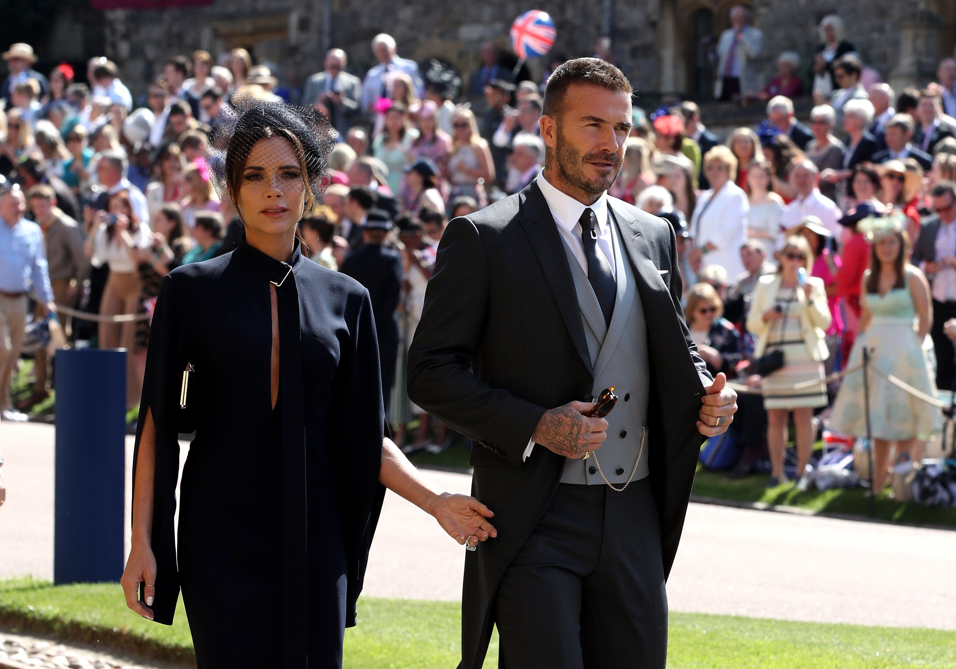 Victoria Beckham Looks Positively Overjoyed To Be At The Royal