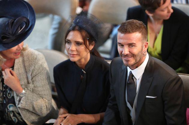 Você não reparou, mas Victoria Beckham era a convidada mais 'feliz' do Casamento