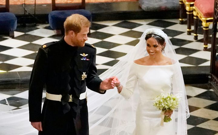 The Duke and the Duchess of Sussex.