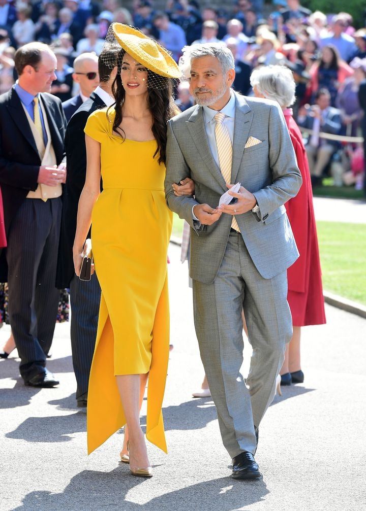 Amal Clooney Royal Wedding.Amal Clooney Leads The Best Dressed List At The Royal Wedding